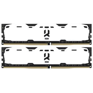 Оперативная память GOODRAM Iridium 2x4GB DDR4 PC4-19200 [IR-W2400D464L15S/8GDC]