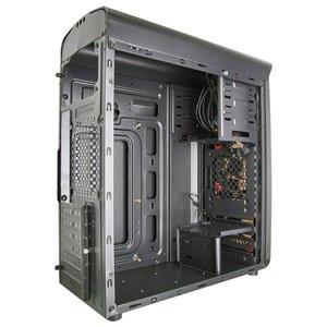 Корпус Exegate EVO-8206 Red LED (EX277190RUS)