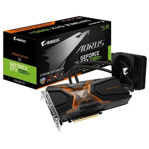 Видеокарта Gigabyte AORUS GeForce GTX 1080 Ti Waterforce Xtreme Edition 11GB GDDR5X