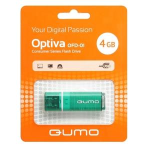USB Flash QUMO Optiva 01 4Gb Green