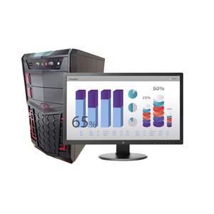 """Компьютер игровой с монитором 22"""" на базе процессора AMD A10-9700E"""