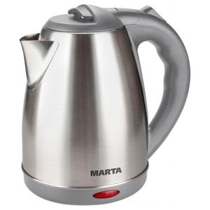Электрочайник MARTA MT-1083 красный гранат/металл
