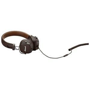 Наушники с микрофоном Marshall Major III (коричневый)