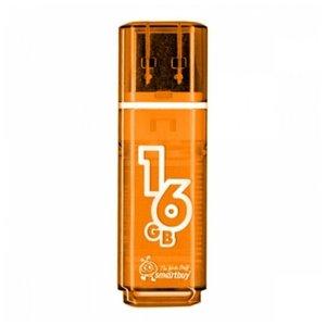 USB Flash Smart Buy Glossy Black 16GB (SB16GBGS-K)