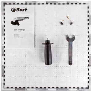 Угловая шлифмашина Bort BWS-1000X-125
