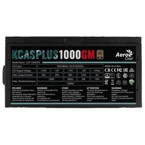 Блок питания AeroCool KCAS Plus 1000GM