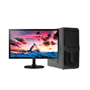 """Компьютер офисный с монитором 22"""" на базе процессора AMD Ryzen 3 2200G"""