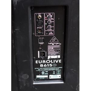 Концертная акустика BEHRINGER EUROLIVE B615D (уцененный товар)
