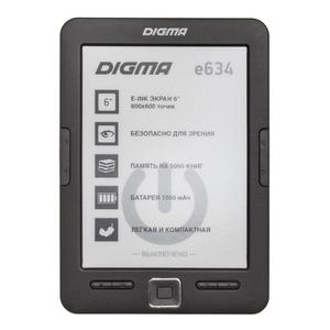 Электронная книга Digma e634