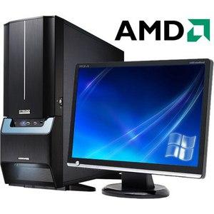 """Компьютер игровой с монитором 22"""" на базе процессора AMD 6300"""