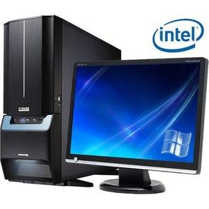 """Компьютер игровой с монитором 24"""" на базе процессора Intel Core i5-7400"""