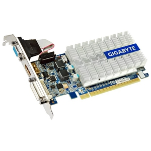 Видеокарта 1024Mb DDR3 GT210 GigaByte (GV-N210SL-1GI)