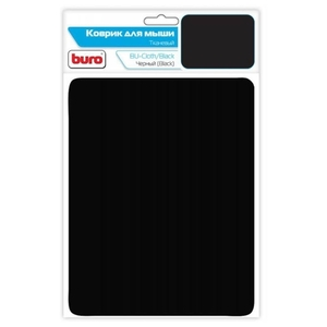 Коврик для мыши Buro BU-CLOTH/black матерчатый