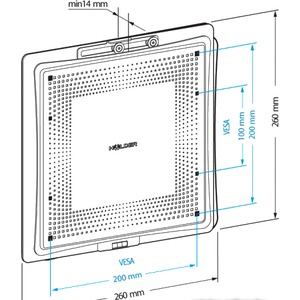 Кронштейн HOLDER LCD-F2801М-B