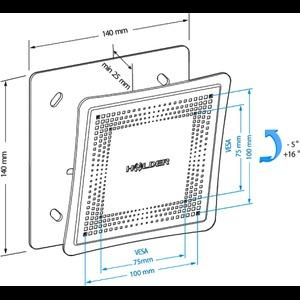 Кронштейн HOLDER LCD-T1802М-B