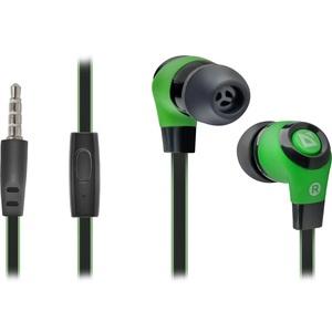 Наушники с микрофоном Defender Pulse-430 Black/Green