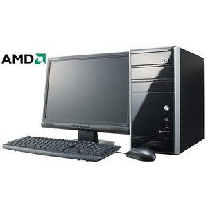 """Компьютер офисный с монитором 19"""" на базе процессора AMD AMD A4-4020"""