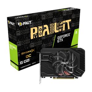 Видеокарта Palit GeForce GTX 1660 StormX OC 6GB GDDR5