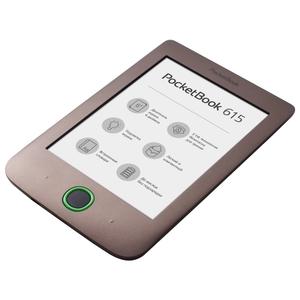 Электронная книга PocketBook 615 Basic 3 (PB615-X-CIS) Dark Brown