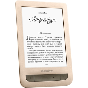 Электронная книга PocketBook 626 (Touch Lux 3) Matte Gold