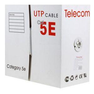 Кабель сетевой Telecom LSZH UTP (UTP4-TC305C5EN-CCA-IS-RD-LSZH)
