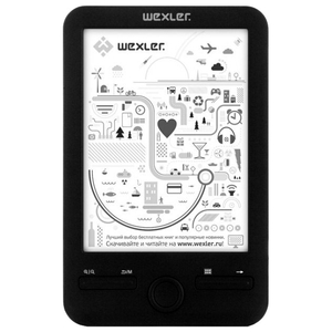 Электронная книга Wexler.Book E6003 4GB Black
