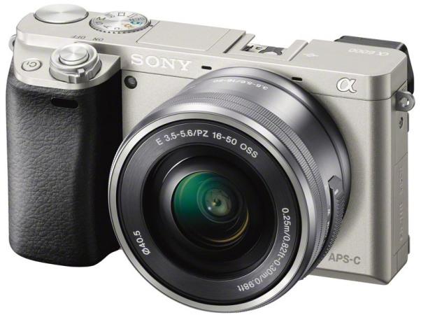 Купить Фотоаппарат Sony Alpha Ilce-6000   Sony Selp 16-50Mm Silver