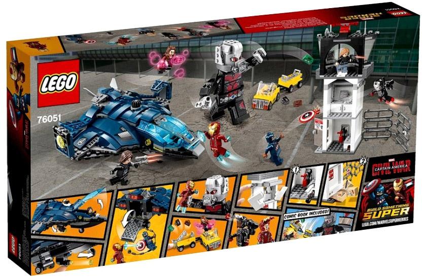 Купить конструктор LEGO Marvel Super Heroes 76051 Сражение ...