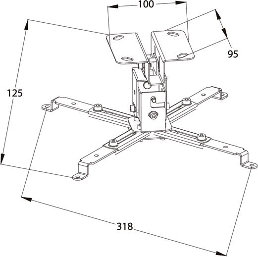 Кронштейн проектора своими руками