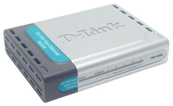 Коммутатор D-Link DES-1005D